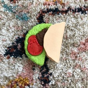 Play toy kitchen taco filling and shell